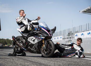 Чемпионы России испытали BMW HP4 RACE