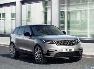 «Живые» продажи Range Rover Velar в России стартуют в октябре