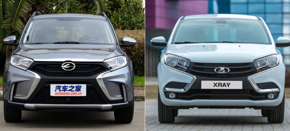 Китайская копия Lada ХRay уже в продаже