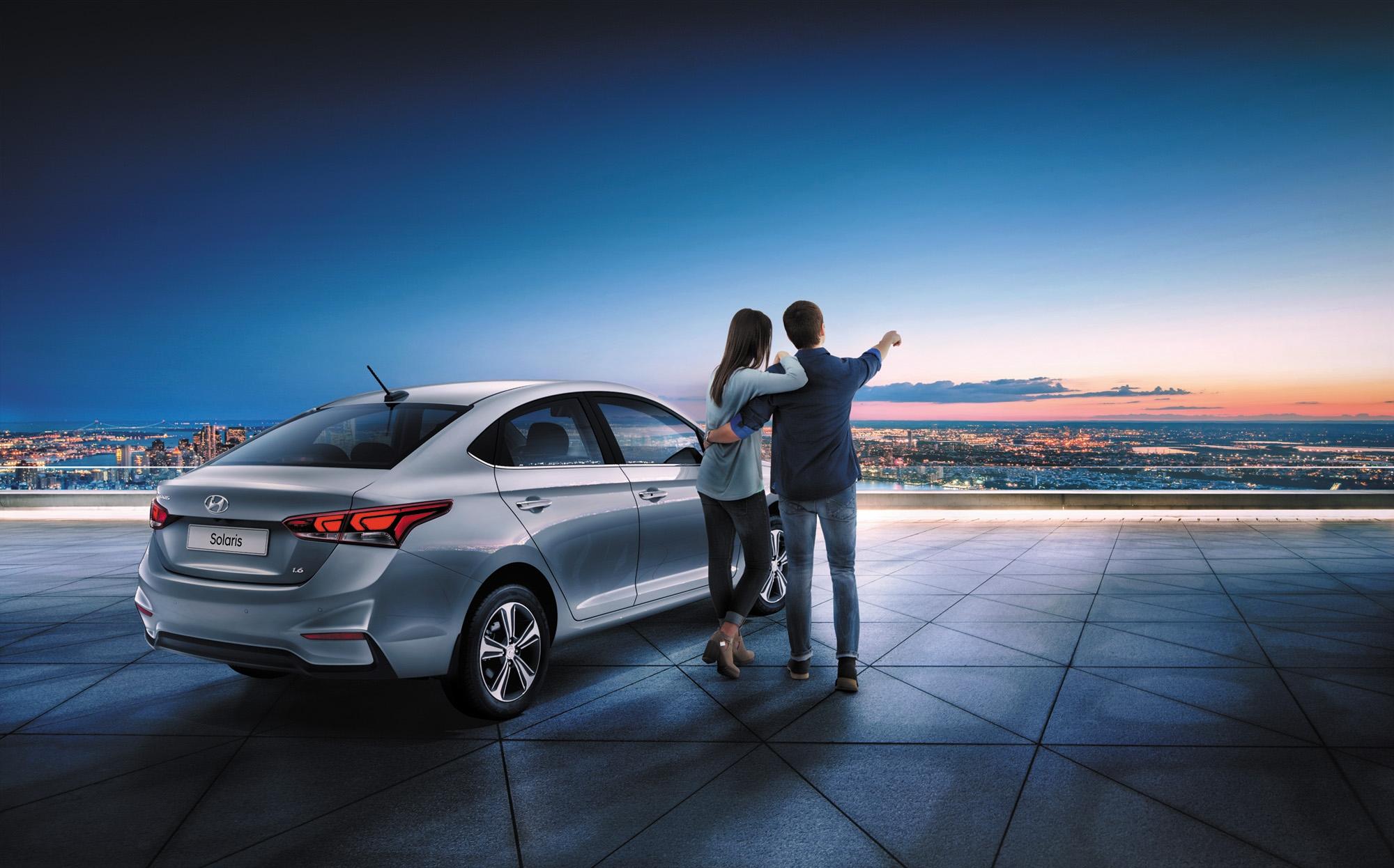Hyundai Solaris по программе 50 на 50