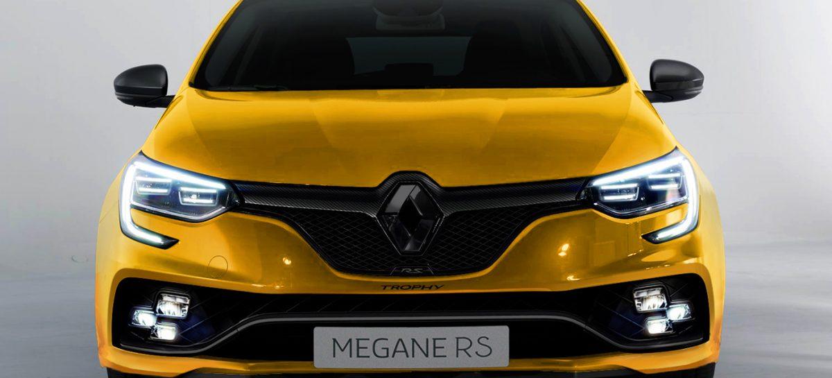В сети обнародовали патентные изображения нового Renault Megane R.S.