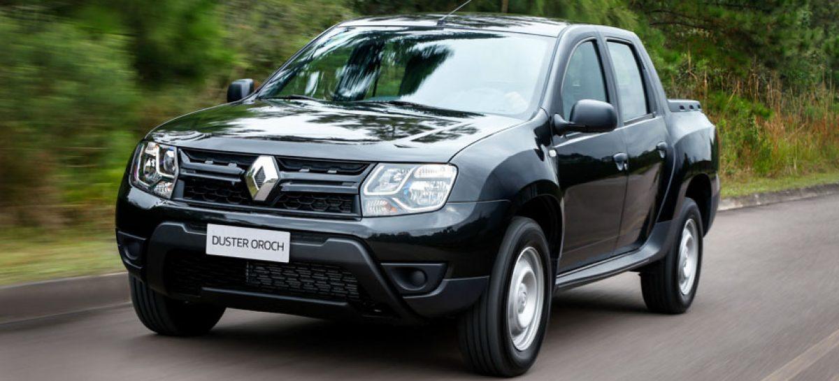 Бюджетный пикап Renault Duster Oroch