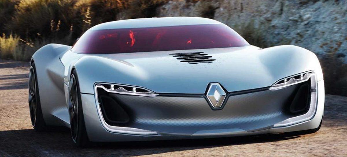 Renault начала разработку 460-сильного электрокара