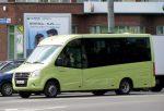 Новый автобус ГАЗель Next «засветился» на улицах Нижнего Новгорода
