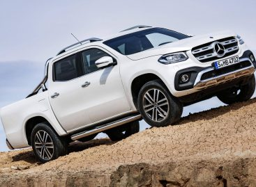 Премиальный грузовик: Mercedes-Benz представил пикап X-Class