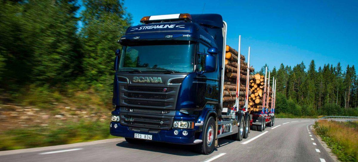 Scania: «Лесоруб XXI века»