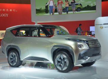 В Китае представят обновленный внедорожник Mitsubishi Pajero 2018