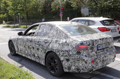 BMW начала тесты нового седана 3-Series в серийном кузове