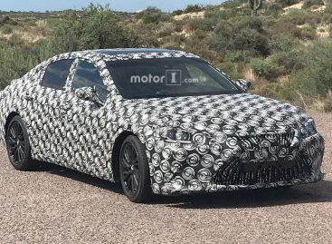 Lexus начал тесты седана ES нового поколения