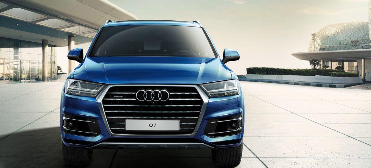 Еще более новая Audi Q7 прошла тест-драйв
