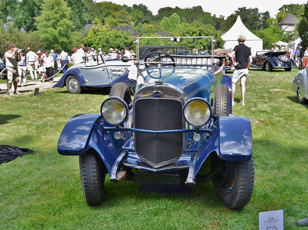 Audi Typ E 21-78 PS Torpedo 1924