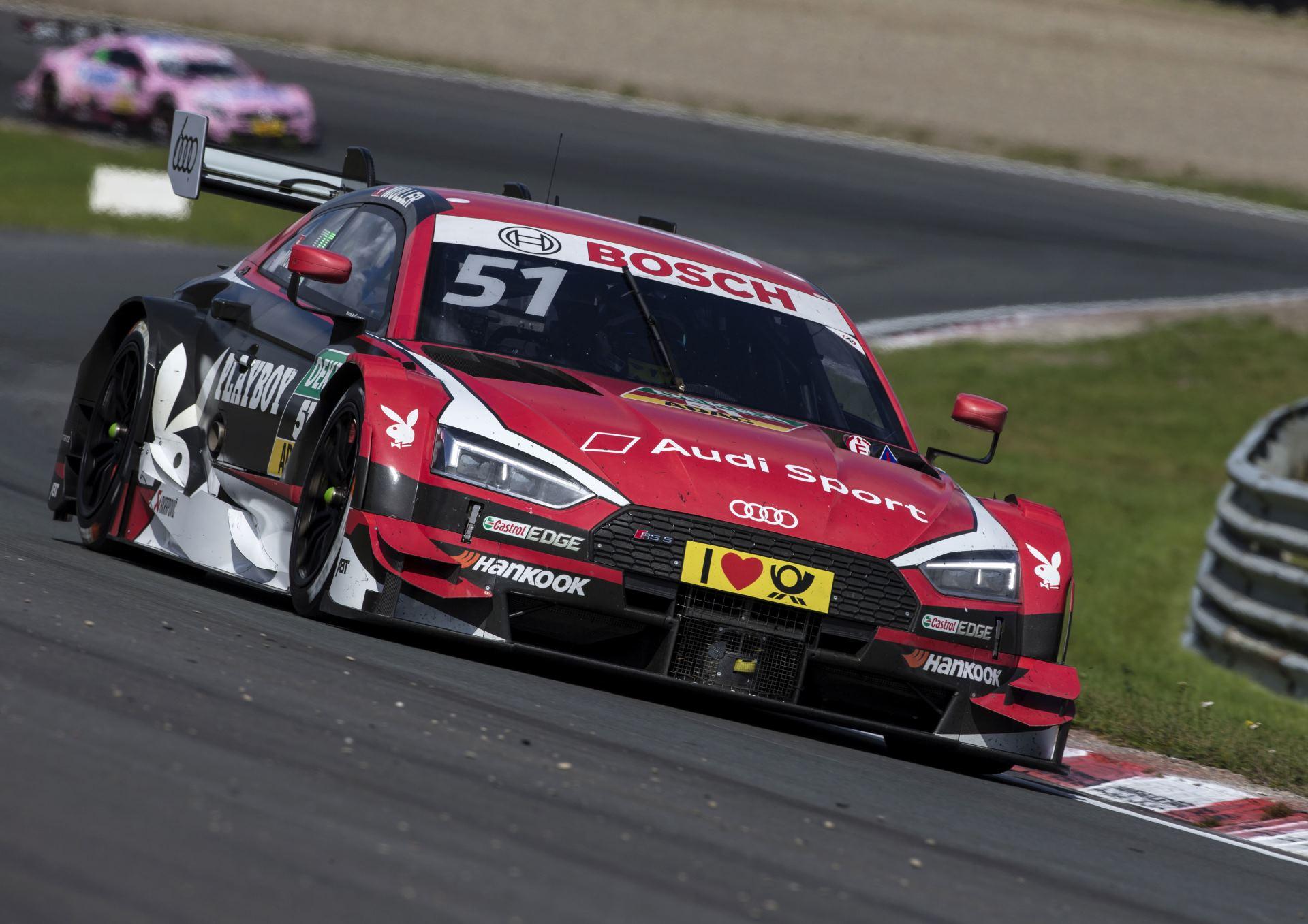 Audi на этапе в Зандворте на кругу