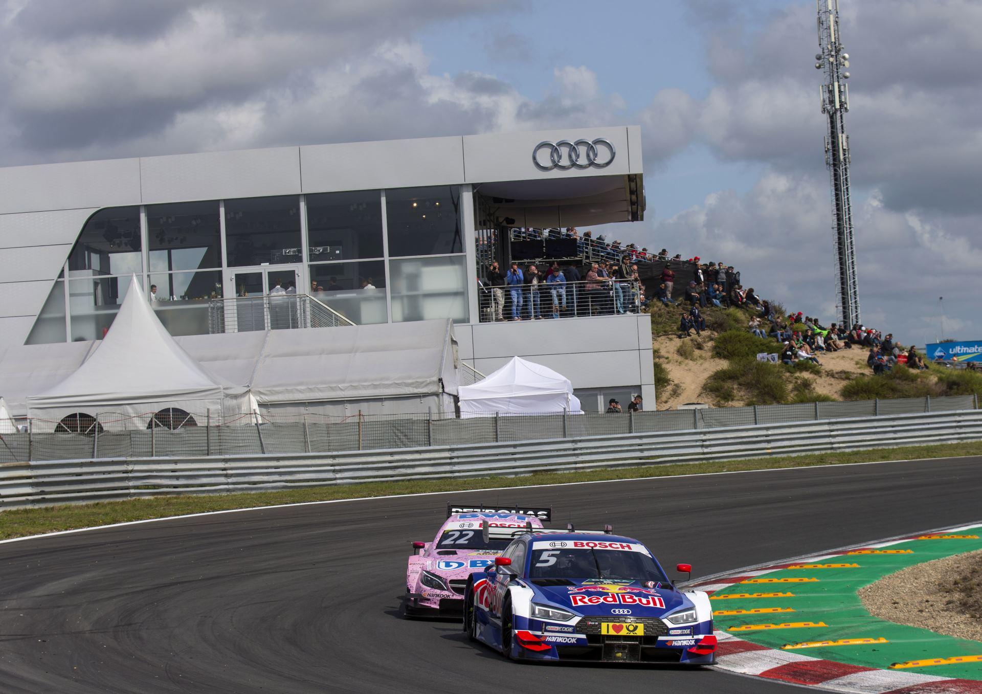 Audi на этапе в Задворте