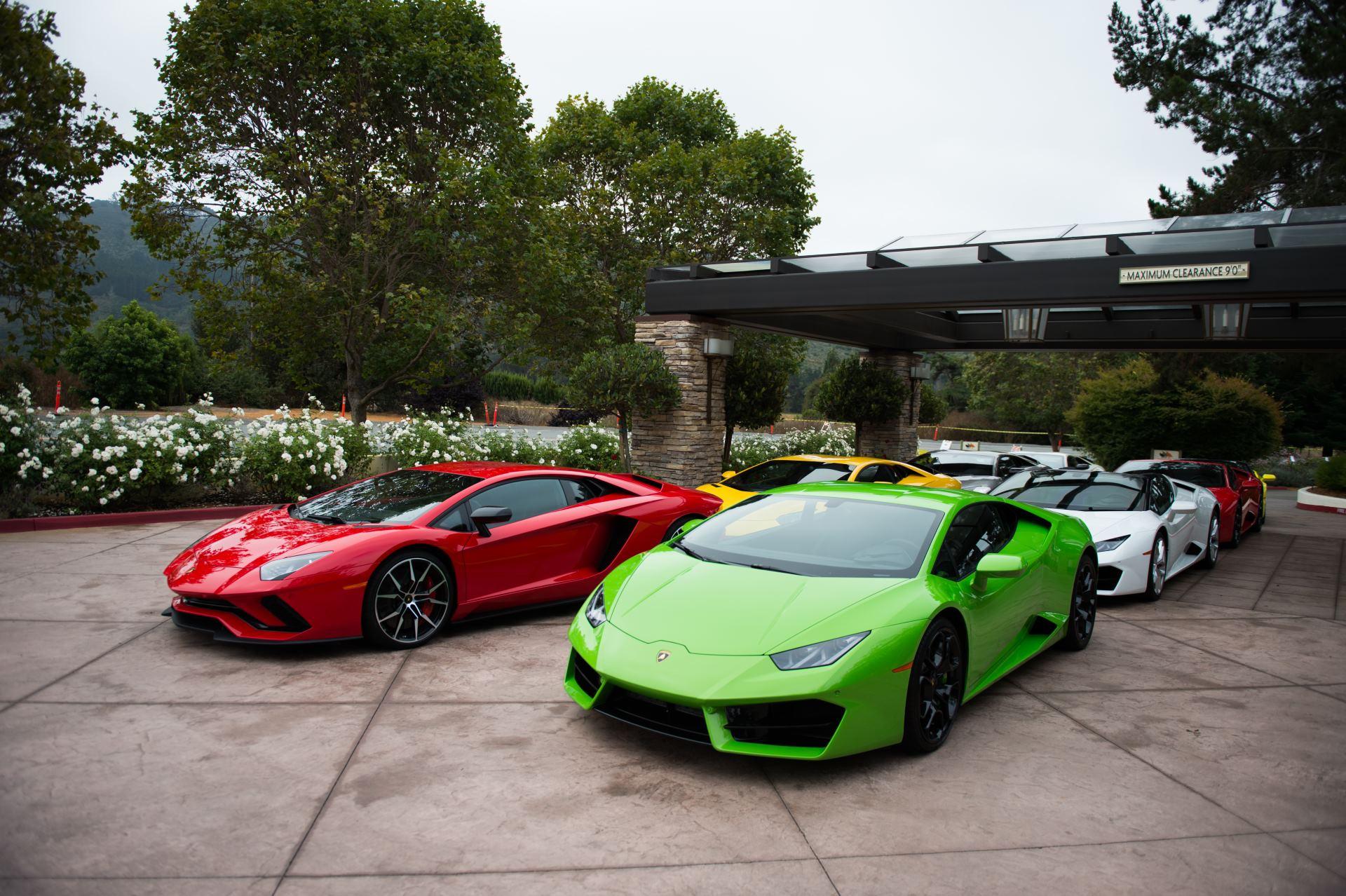 Lamborghini at Monterey Car Week 03