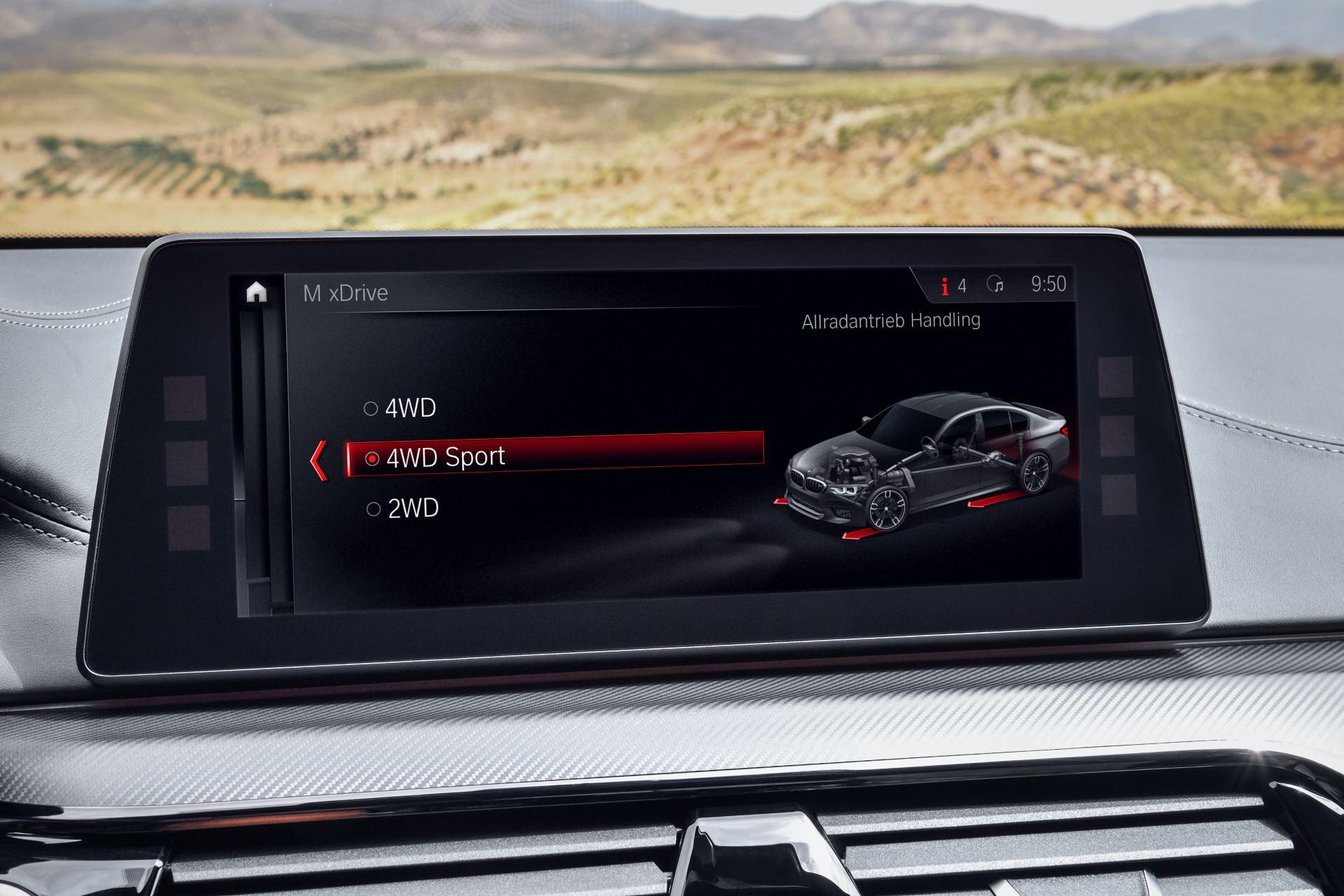BMW M5_система M xDrive