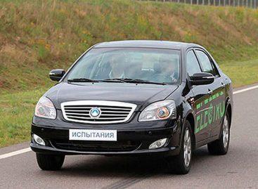 В Беларуси представили первый электромобиль собственного производства