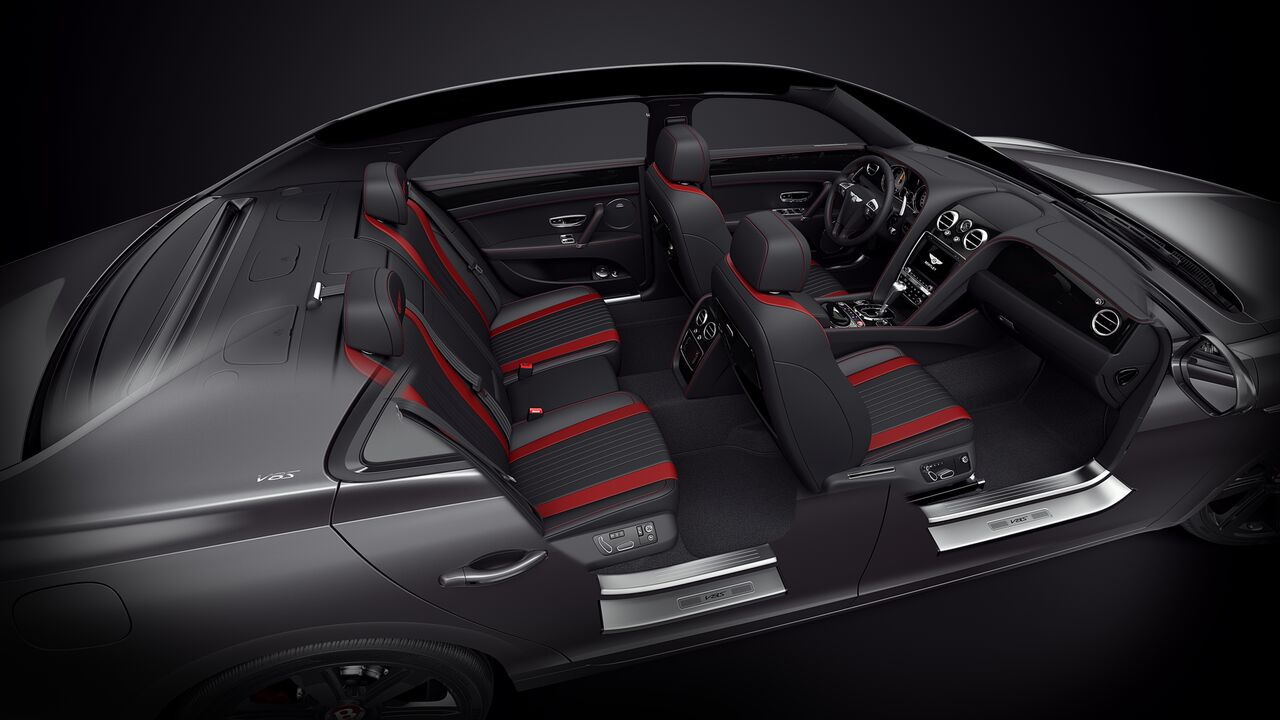 Bentley Flying Spur V8 S Black Edition_салон