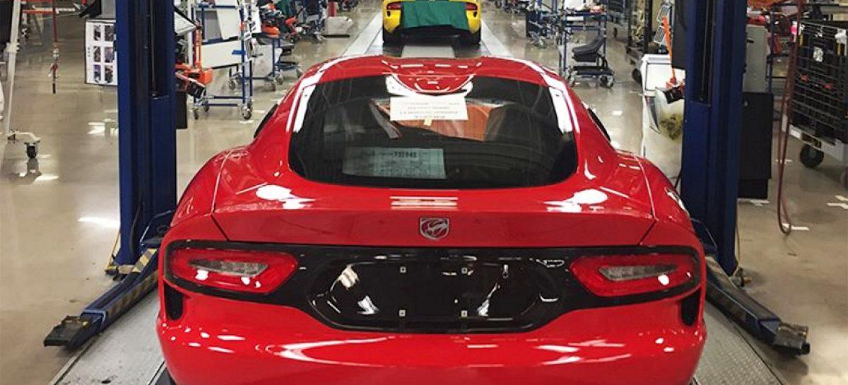 Последний в истории Dodge Viper