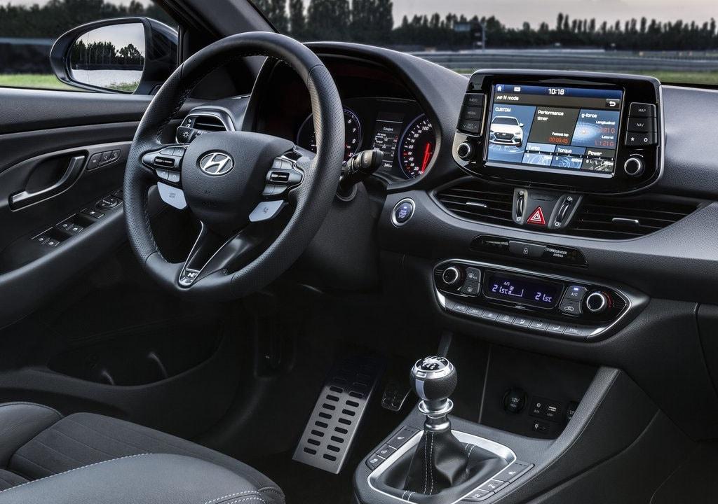 Hyundai i30 N мультимедиа