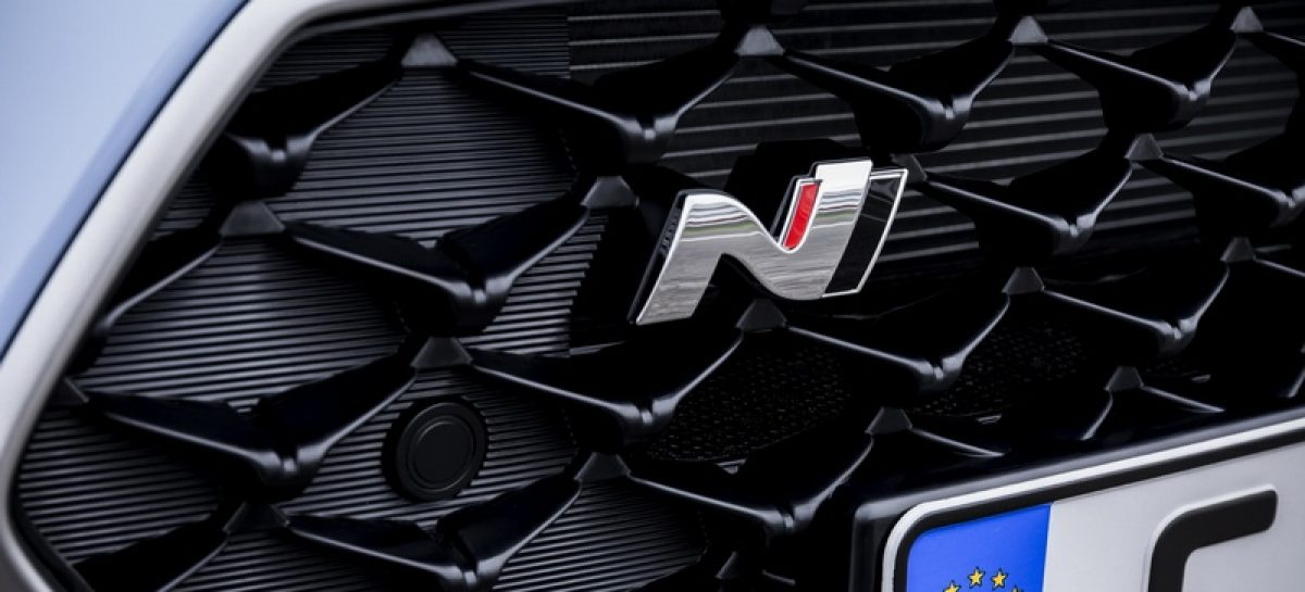 Автомобиль Hyundai с приставкой N