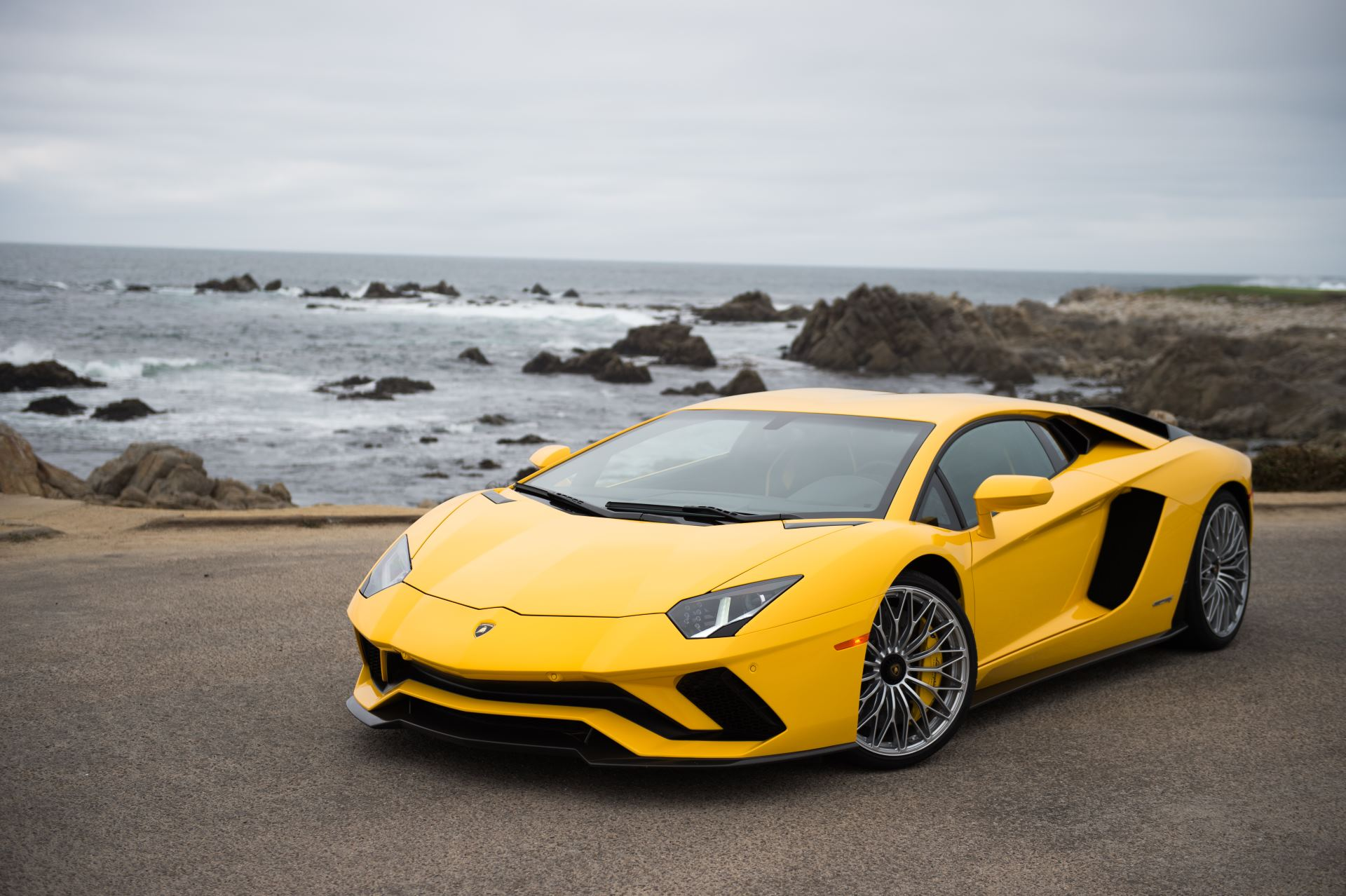 Lamborghini Aventador S at Pebble Beach 03