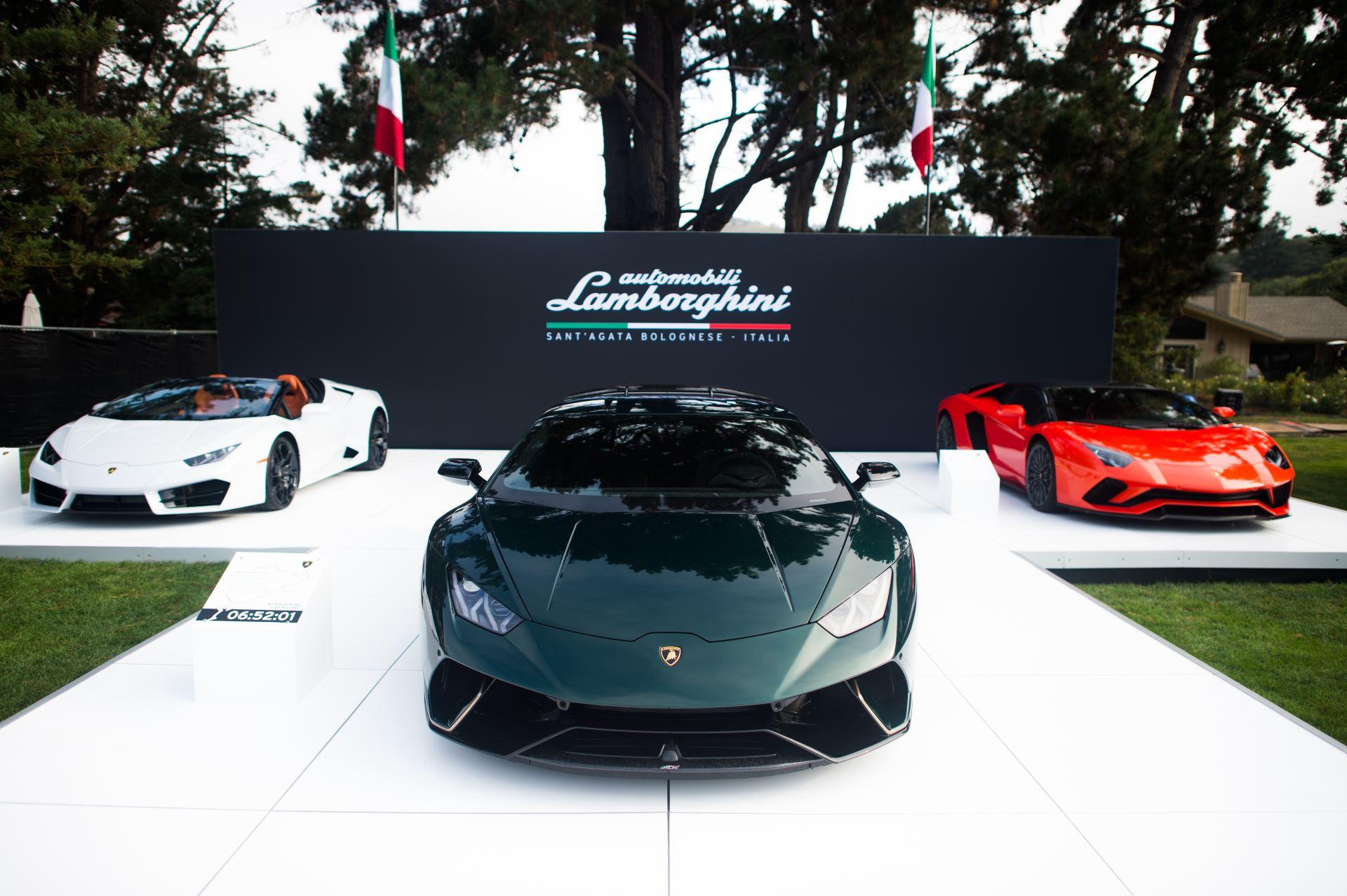 Lamborghini на фестивале Monterey Car Week 2017_2