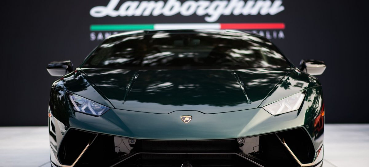 Lamborghini на фестивале Monterey Car Week 2017