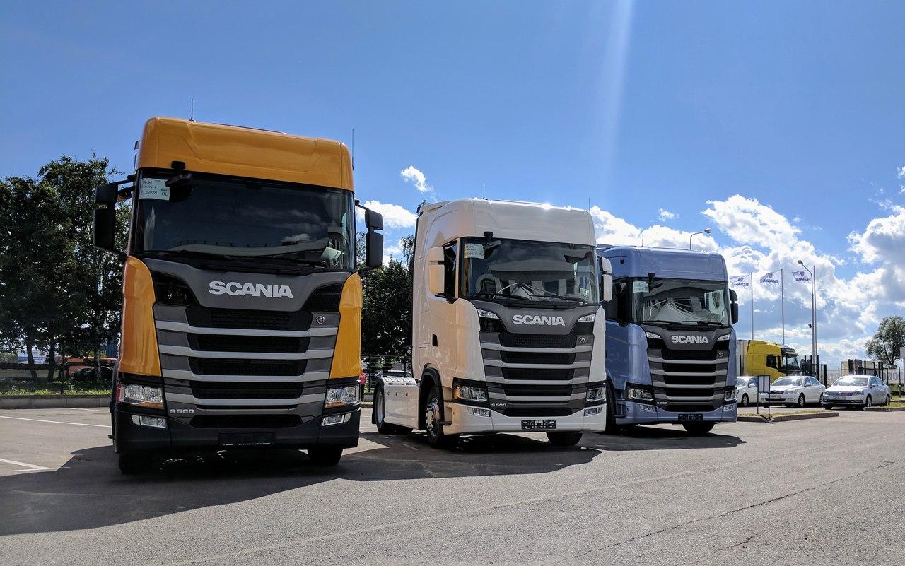 Отгрузка Scania S 500