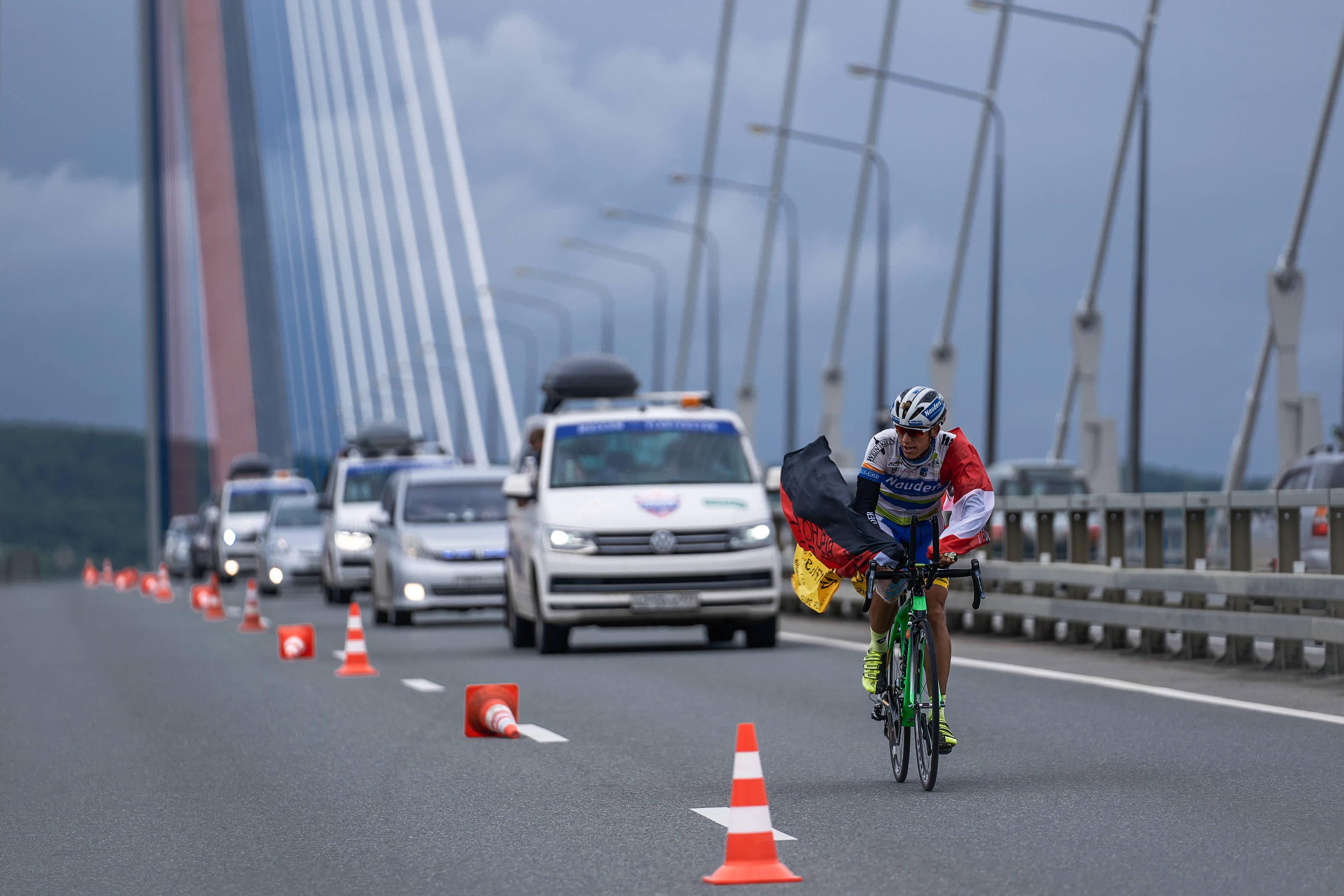 ультра-марафонская шоссейная многодневная велогонка Red Bull Trans-Siberian Extreme