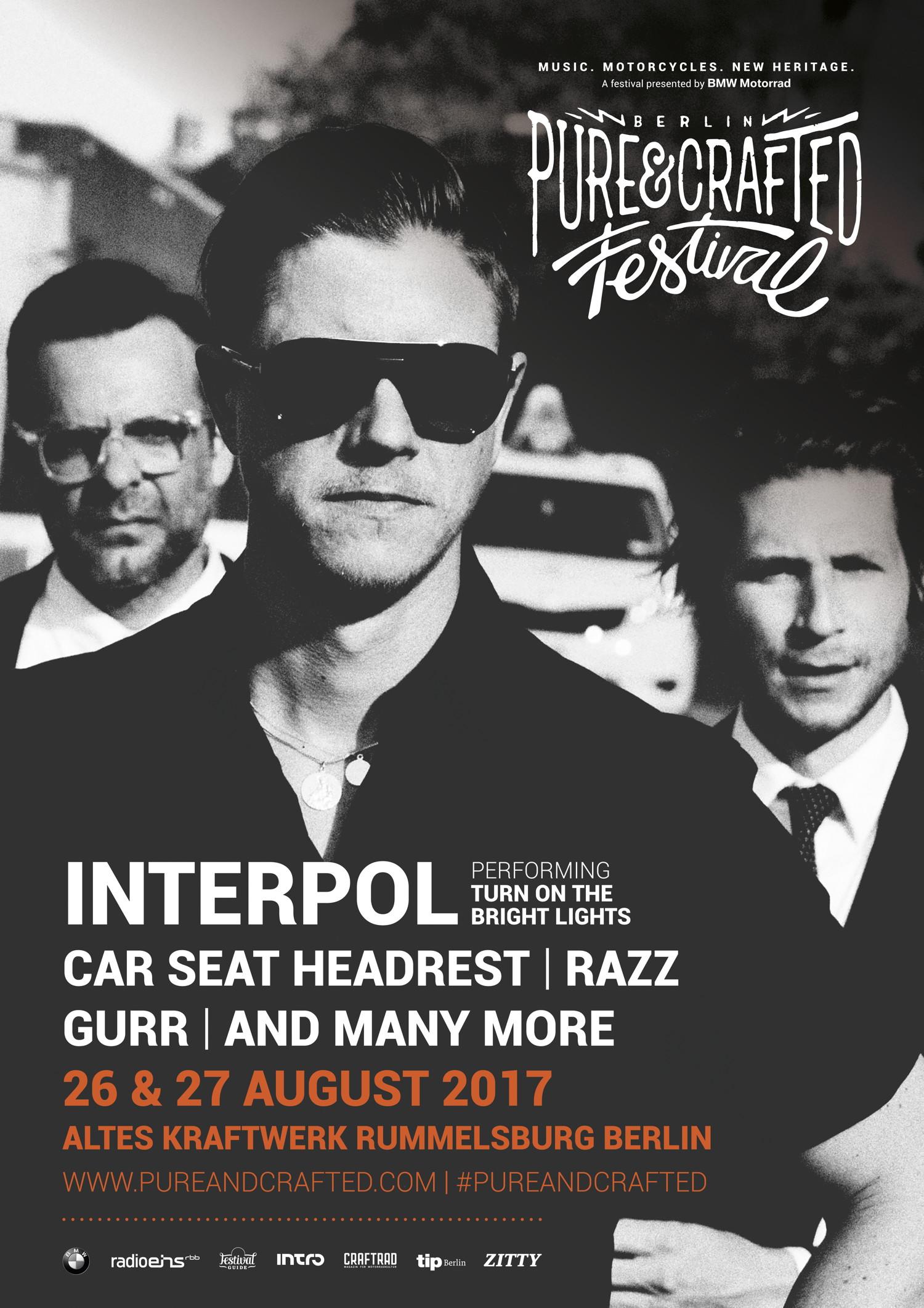 группа Interpol на Pure&Crafted