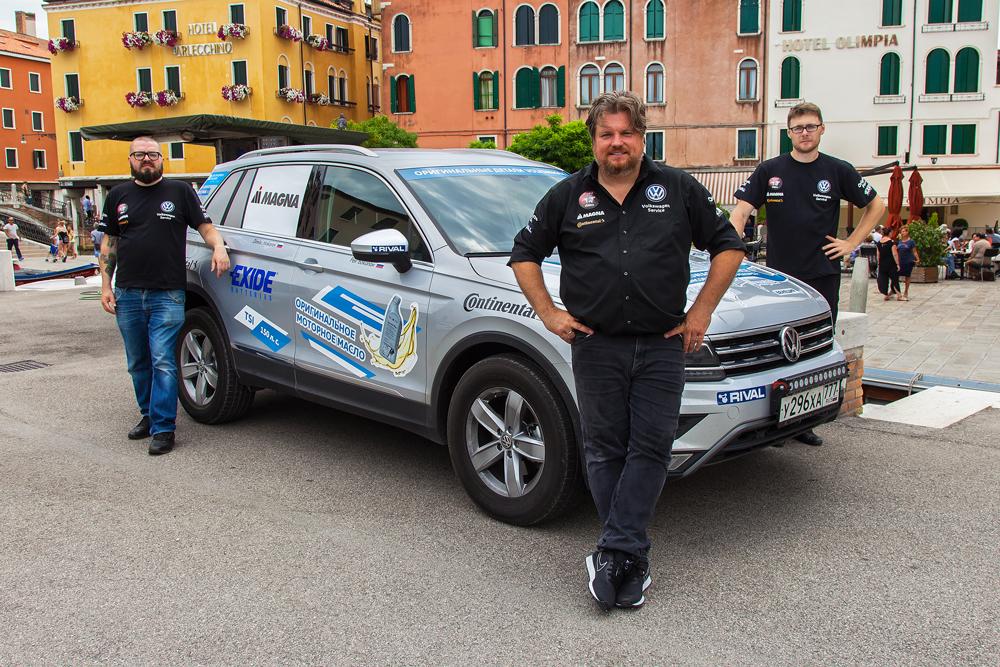 Райнер Цитлоу и Volkswagen Tiguan