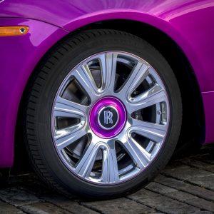 Rolls-Royce с оттенком рассвет