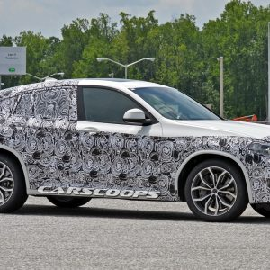Слухи подтверждаются: первые шпионские снимки BMW X4M