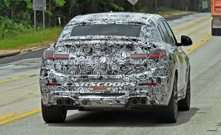 BMW X4 шпионские снимки 2017