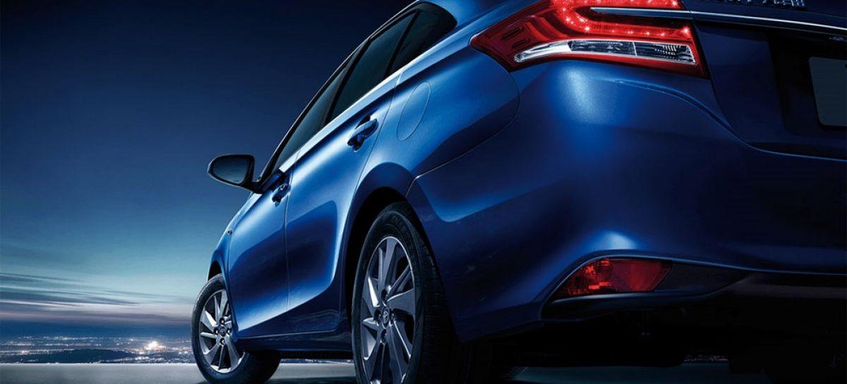 Бюджетный седан Toyota Yaris Ativ