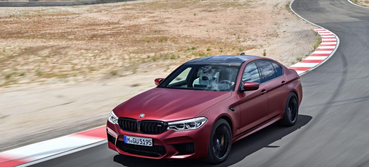 BMW приступил к производству M5