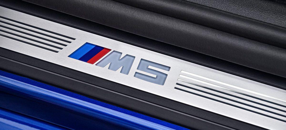 Новый особо умный BMW M5