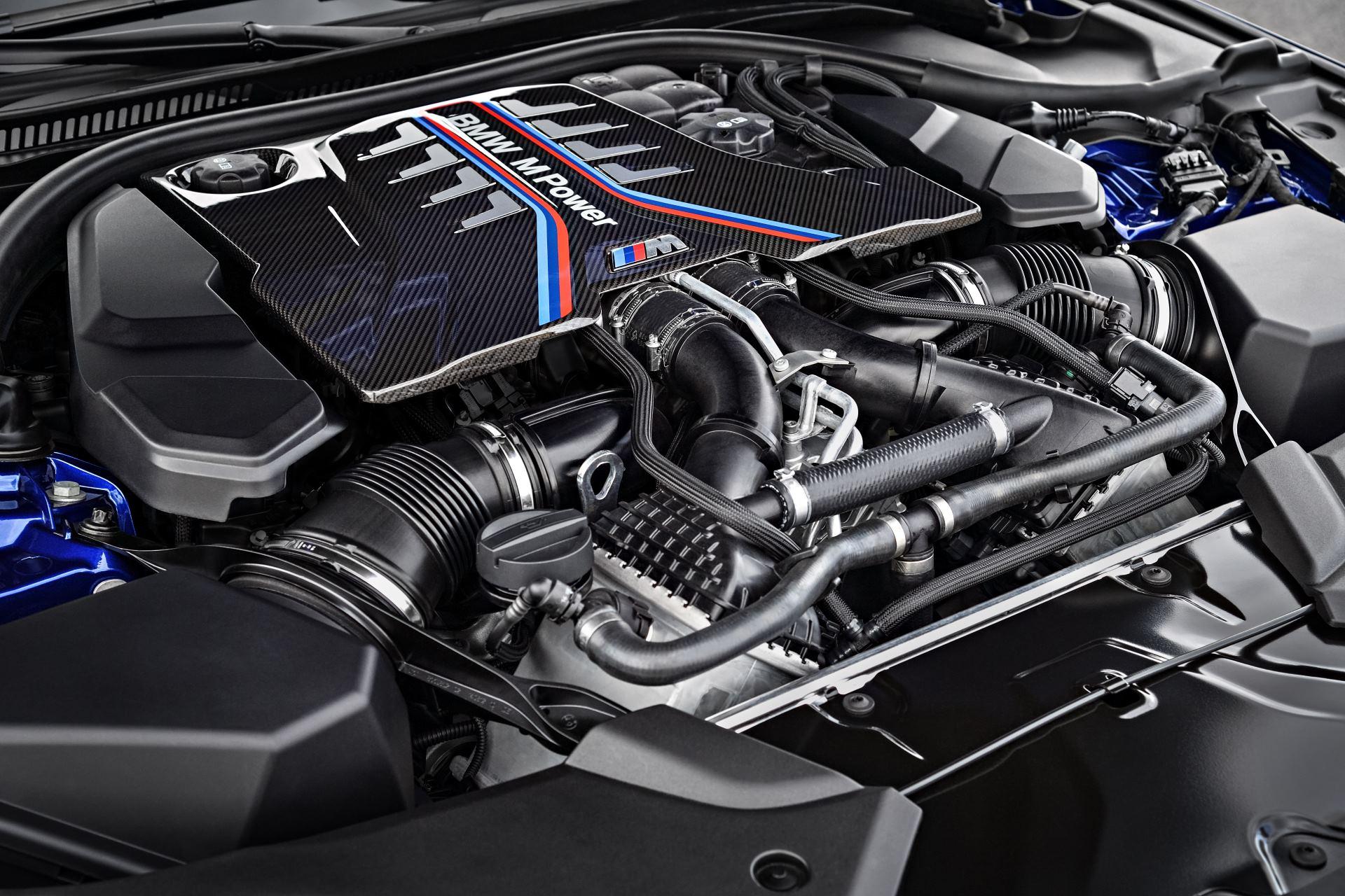bmw m5 мотор