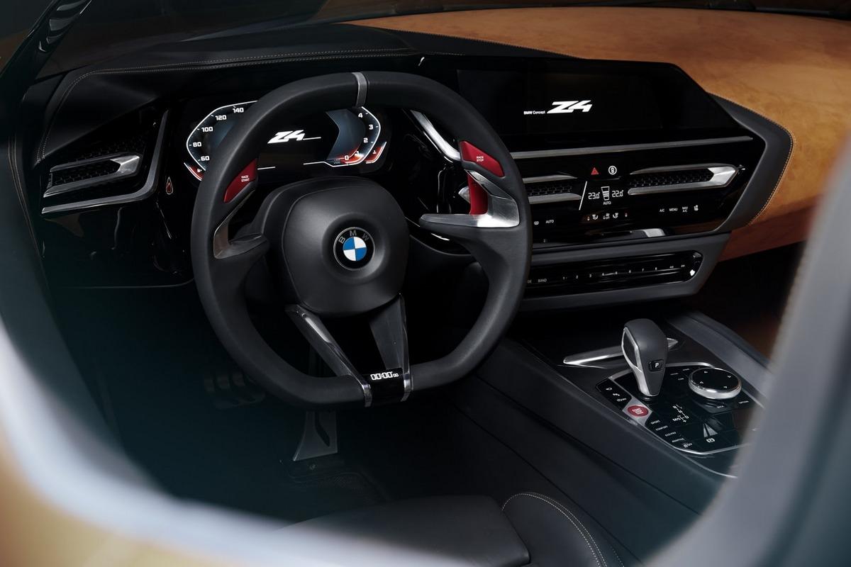 BMW Z4 салон