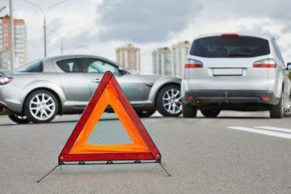 ДТП аварийный знак