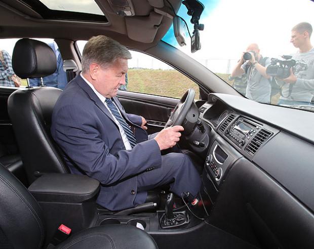 Во время испытаний была показана скорость в 110 км/ч.