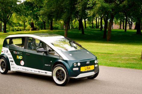 Голландские студенты построили автомобиль из свеклы и льна