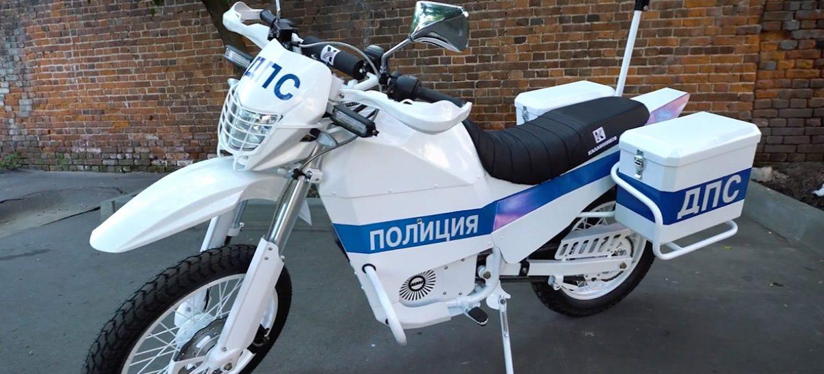 """""""Калашников"""" на Армии-2017 с электромотоциклами для полиции"""