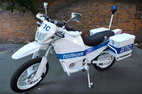 «Калашников» на Армии-2017 с электромотоциклами для полиции