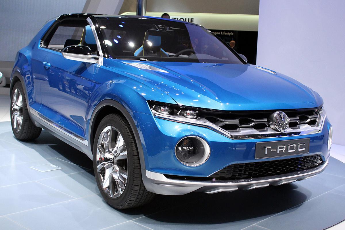 прототип Volkswagen T-Roc
