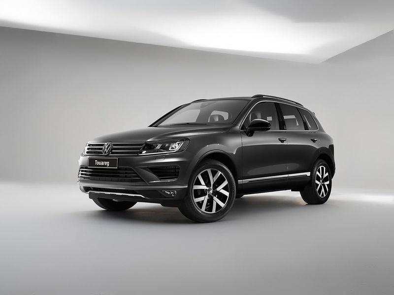 VW Touareg Wolfsburg edition