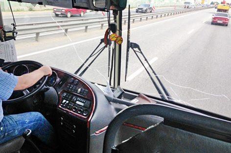 Водители автобусов массово нарушают ПДД