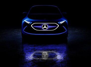 Концепт-кар Mercedes-Benz Concept EQA
