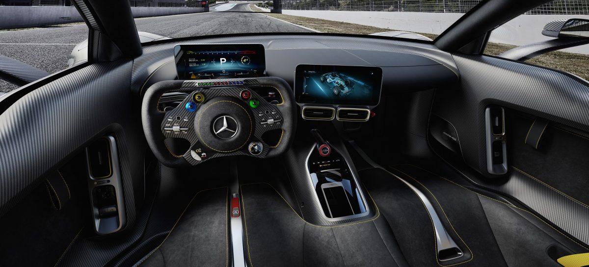 Премьера Mercedes-AMG Project ONE