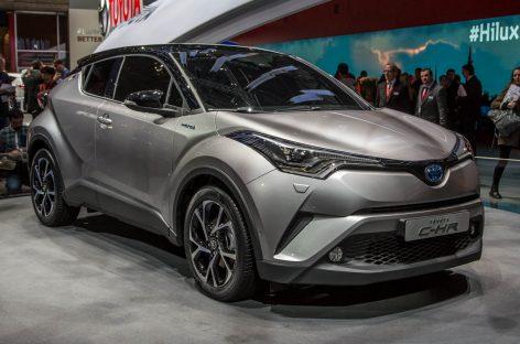 Toyota C-HR едет в Россию